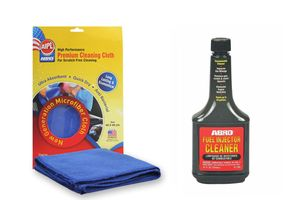 ABRO Fuel Injector Cleaner IC-509 (354 ml)+Microfiber Cloth