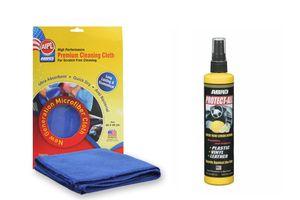 ABRO Protect All lemon PA-512 (296 ml)+Microfiber Cloth