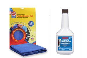 ABRO Auto Transmission Fluid Conditioner AC-999 354ml+Microfiber Cloth