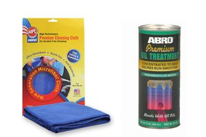 ABRO Oil Treatment OT-511 250 ml+Microfiber Cloth