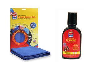 ABRO Oil Treatment OT-511 (350 ml)+Microfiber Cloth