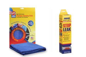 ABRO Stop-Leak Powder AB-404 20gm+Microfiber Cloth
