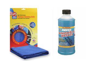 ABRO Windsheild Washer Cleaner WW-516 (473 ml)+Microfiber Cloth