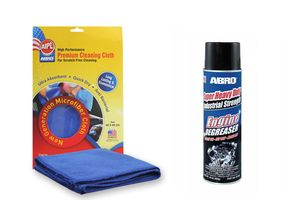 ABRO Super Heavy Duty Engine DegreaserDG-400(454 gm)+Microfiber Cloth