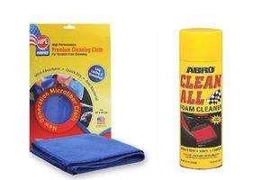 ABRO Clean All Foam Cleaner FC-577 623 gm+Microfiber Cloth