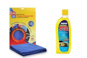 ABRO Car Wash & Glow CW-927 510 ml+Microfiber Cloth