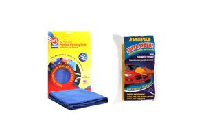 ABRO Car Super Sponge CS-168+Microfiber Cloth