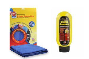 ABRO Car Scratch Remover SR-800 (240 ml)+Microfiber Cloth