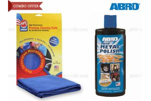 ABRO Liquid Metal Polish MP-434 (236 ml)+Microfiber Cloth