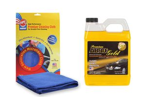 ABRO Car Wash CW-990-32 (946 ml)+Microfiber Cloth