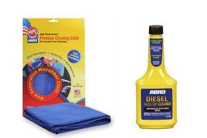 ABRO Diesel Injector Cleaner DI-502 (200 ml)+Microfiber Cloth