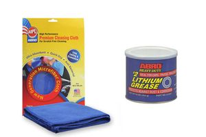 ABRO Heavy-Duty lithium grease - LG-857 (454 gm)+Microfiber Cloth