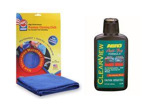 ABRO ClearView Anti-Fog Formula AF-190 103 ml+Microfiber Cloth