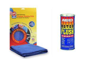 ABRO Motor Flush MF-390 50 ml+Microfiber Cloth