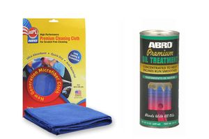 ABRO Oild Treatment OT-511 100 ml+Microfiber Cloth