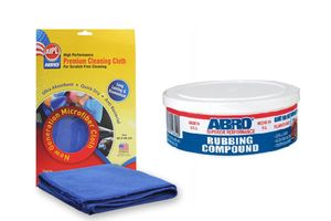 ABRO Car/Bike Rubbing Compund RCH-60 - 60g+Microfiber Cloth