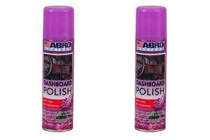 ABRO Car Dashboard Polish DP-533-Lilac (220 ml) (Set Of 2)