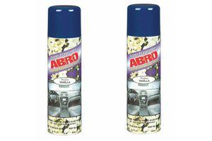 ABRO Scented Dashboard Polish-Vanilla DP-629-Vanilla (220 ml) (Set Of 2)