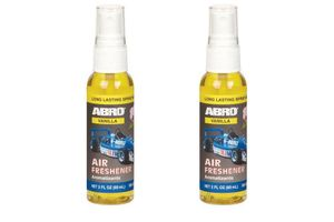 Abro Car Spray Mist Air freshener/Perfume Vanilla(SM-557-VA)-60ml (Set Of 2)