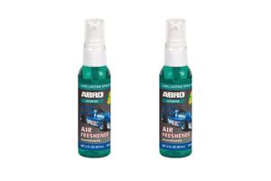 Abro Car Spray Mist Air freshener/Perfume Jasmine(SM-557-JA)-60ml (Set Of 2)