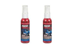Abro Car Spray Mist Air freshener/Perfume Cherry(SM-557-CH)-60ml (Set Of 2)