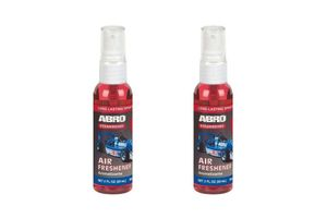 Abro Car Spray Mist Air freshener Strawberry-60ml (Set Of 2)