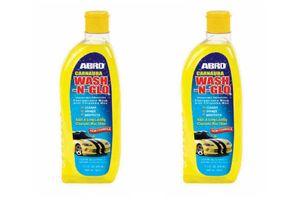 ABRO Car Wash & Glow CW-927 510 ml (Set Of 2)