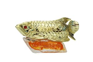 Speedwav Feng Shui Golden Fish Perfume For Car - Orange