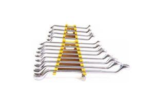 Stanley Shallow Offset Ring Spanner Set(12 Pcs)- 70-395