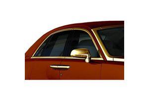 Speedwav 10mm Side Window Stylish Golden Beading Roll 10 meter
