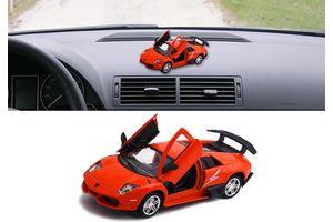 Lamborghini Murcielago R-SV 3 in 1 Car Perfume With Pull Back Action-RED