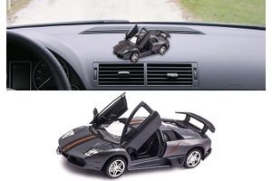 Lamborghini Murcielago R-SV 3 in 1 Car Perfume With Pull Back Action-GREY
