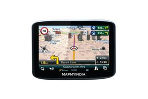 Mapmyindia Car 12.7cm Touch Screen GPS Navigation Tracking Device-Zx350