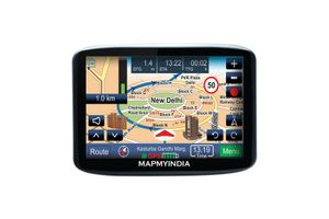 Mapmyindia Car 10.9cm Touch Screen GPS Navigation Tracking Device-Lx345