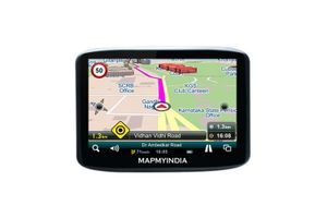 Mapmyindia Car 10.9cm Touch Screen GPS Navigation Tracking Device-Lx340