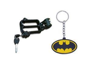 Speedwav Bike Helmet Security Lock + Batman Rubber Keychain