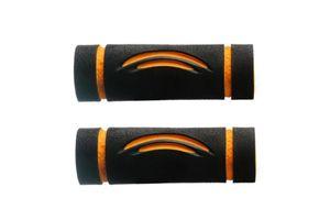 Speedwav Bike Comfort Riding Soft Grip Covers Orange Wave