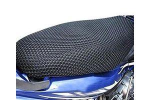 Speedwav Bike Sweat Free Stretchable Net Seat Cover-Black