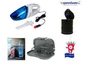 Speedwav 4 in 1 Utility Combo-Vacuum Cleaner+Dining Tray+Ashtray And Jazzy
