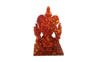 Speedwav Car Dashboard God Idol - Glass Ganesha Stone Texture