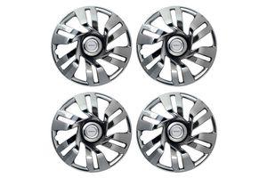 Speedwav Carnival Full Chrome 12 inch Wheel Covers-Set Of 4