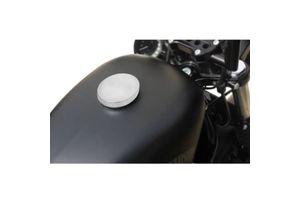 Silver Fuel Cap for Harley Davidson