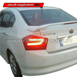 AGHC22AMTL, Honda City 2008 12 Aftermarket LED Tail Light Assembly