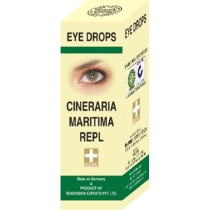 R.E.P.L Cineraria Maritima Eye Drops 10ml combo of 3 packs
