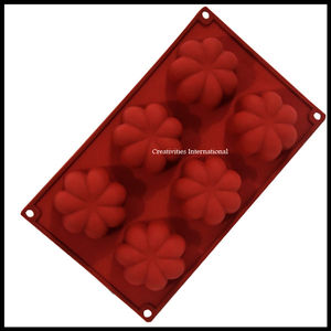 Heart Flower Shape Silicone Muffin mould