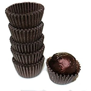 Chocolate Cups- Paper- Set of 25