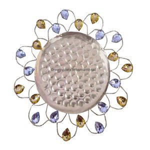 MULTI FLOWER SHAPE DRY FRUIT PLATTER