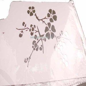 Flower Cake Stencils