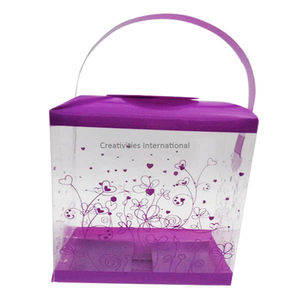 Purple flower  Design box