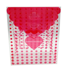 Pink Dotted Design Box